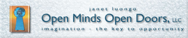 Open Minds, Open Doors - Janet Luongo